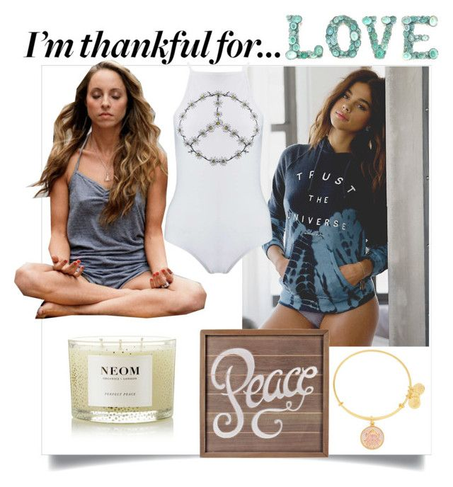 I ´m thankful for... by sarks on Polyvore featuring polyvore, fashion, style, Miss Selfridge, Alex and Ani, NEOM Organics, clothing and imthankfulfor