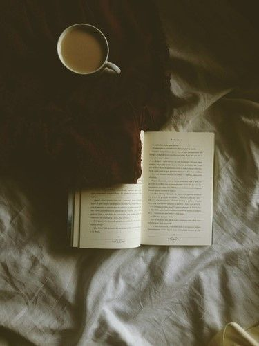 We love our books and coffee... but we might be cheating on coffee with a hot cup of tea.