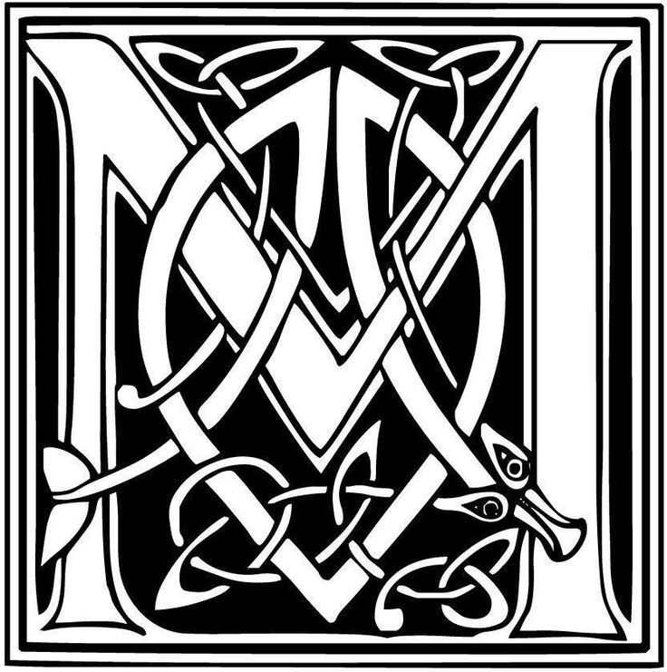 11+ Celtic letters coloring pages ideas in 2021