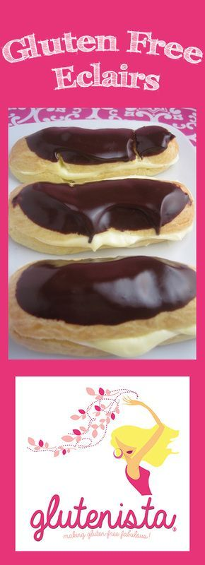 Happy National Eclair Day!!!  Celebrate with Glutenista's amazing Gluten Free Eclairs!
