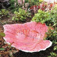 HOW TO: Build a Sand-Cast a Birdbath.  Looking for a simple project with lots of potential? Try this sand-cast birdbath — it's easy to make, works with any large leaf and a bag of concrete, and can be finished a number of ways. We'll show you how.