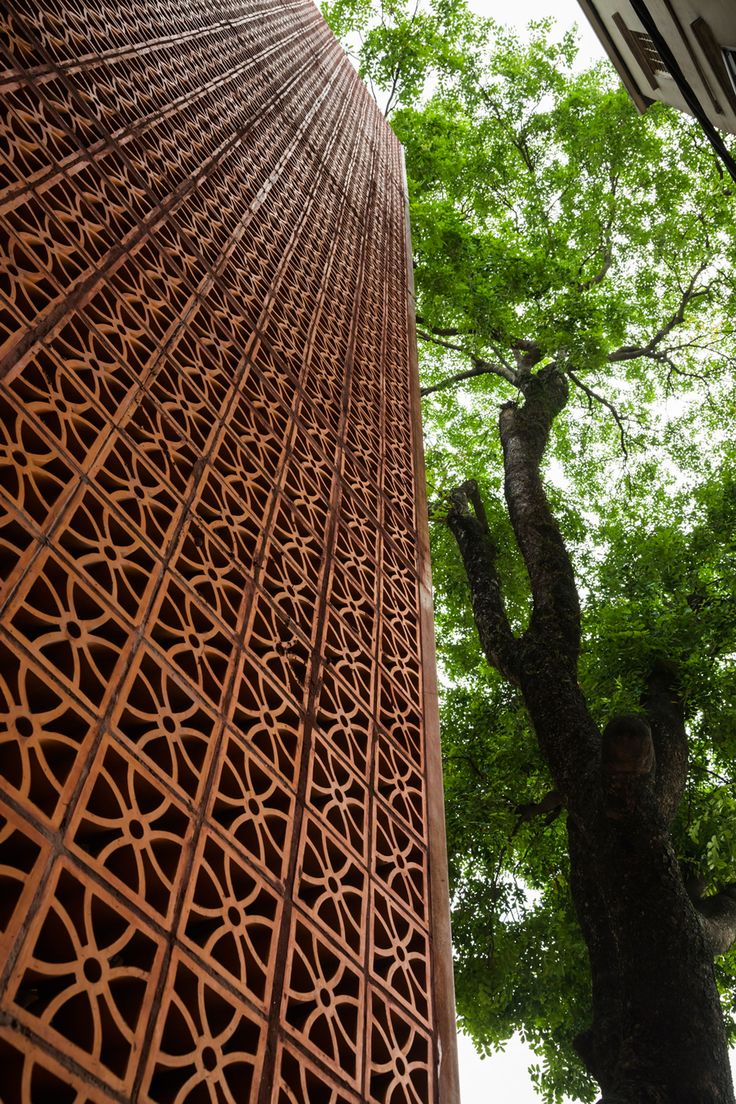 The Lantern for Nanoco-Panasonic Lighting Showroom in Hanoi by Vo Trong Nghia Architects
