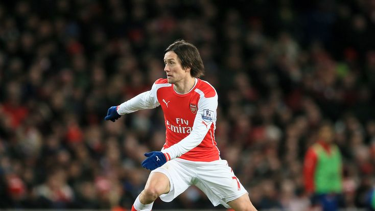 Former Arsenal midfielder Tomas Rosicky retires aged 37 #News #Arsenal #Football #London #Rosicky
