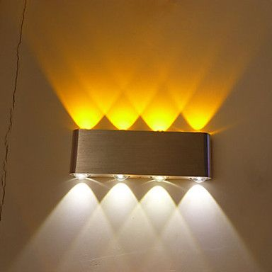 Multi-T Color Temperature Lamp Creative Bar Model Wall Sconces LED / Bulb Included Metal 85-265V 6W 4374571 2017 – $26.09