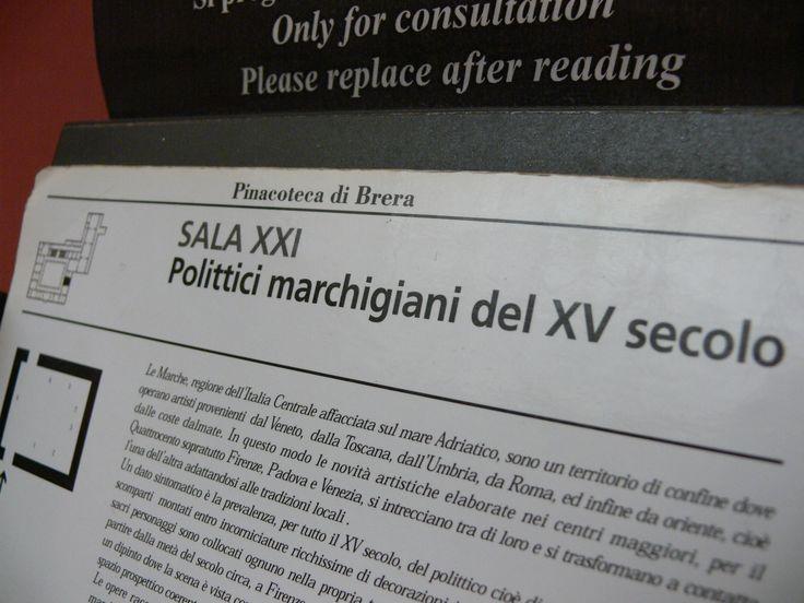 Polittici marchigiani del XV secolo. Benvenuti nella sala numero XXI! #NBTWart #NBTW #MiBACTsocial