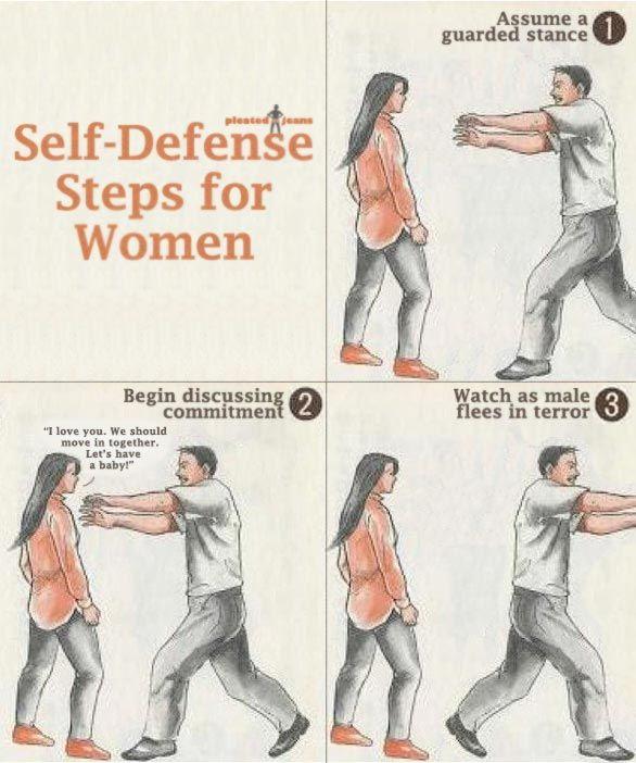 Self Defense for women   http://ift.tt/1qqqc8S via /r/funny http://ift.tt/1S1kZjU  funny pictures