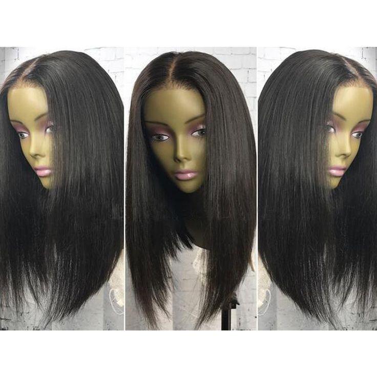 180 Density Full Lace Wigs Glueless Long Bob Brazilian Virgin Hair Wig Lace Front Human Hair Wigs For Black Women Human Wigs
