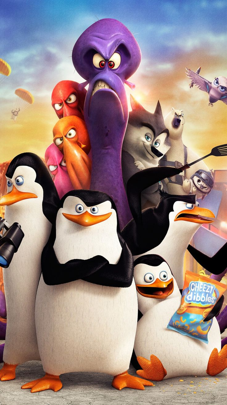 awesome penguins of madagascar movie uhd wallpapers