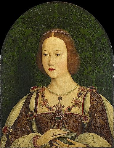 PRINCESS MARY TUDOR - DAUGHTER OF KING HENRY VII AND ELIZABETH PLANTAGENET - DOWAGER QUEEN OF FRANCE AND THE WIFE OF CHARLES BRANDON - 1st DUKE OF SUFFOLK. THEIR MARRIAGE WAS A LOVE MATCH.