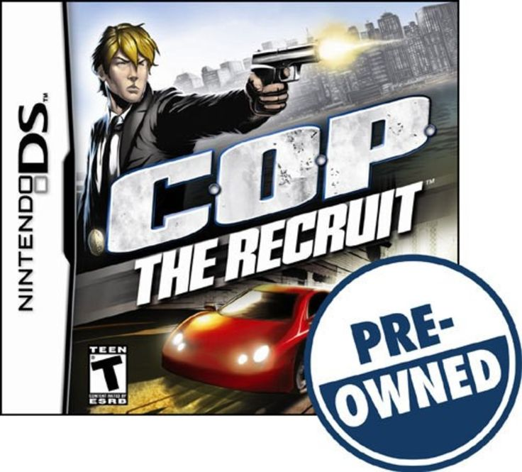 C.O.P.: The Recruit — PRE-Owned - Nintendo DS