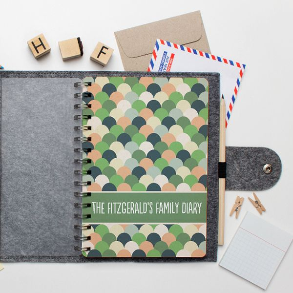 Tinyme personalised diaries are the cutest way to get organised. Get set for 2015 with a personalised family diary!