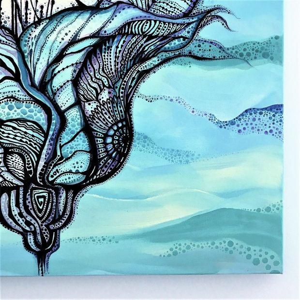 """Obraz """"Balonem w podróży z wyobraźnią"""" - Mood Moments"""