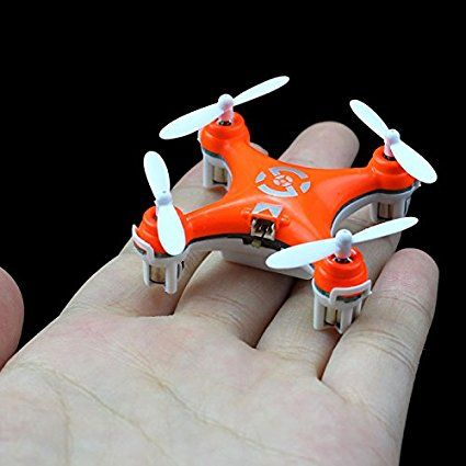 Small quadcopters like this one is a great stocking stuffer for tween boys because they look cool and he can play with it with his friends.