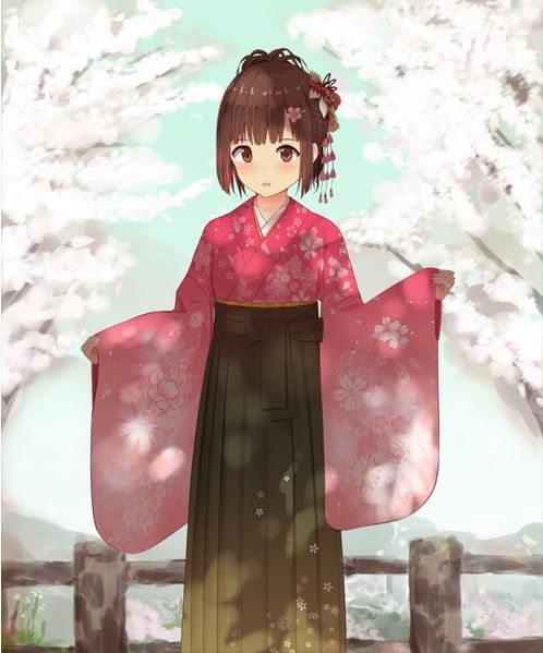 1000 Images About Anime Yukata On Pinterest Anime Girls