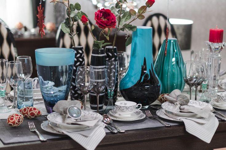 Prawdziwa Lady - świąteczny stół z klasyczną porcelaną #mojpieknystol