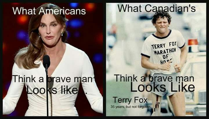 ❤ Terry Fox's legacy