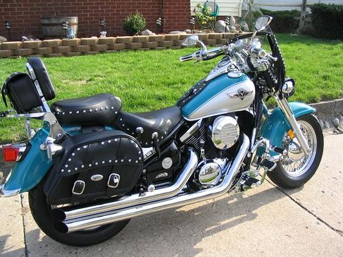 1996 Kawasaki Vulcan 800 Classic by denny9526.                                              The only difference between this bike and the first one I rode was the first one had ape hangers!