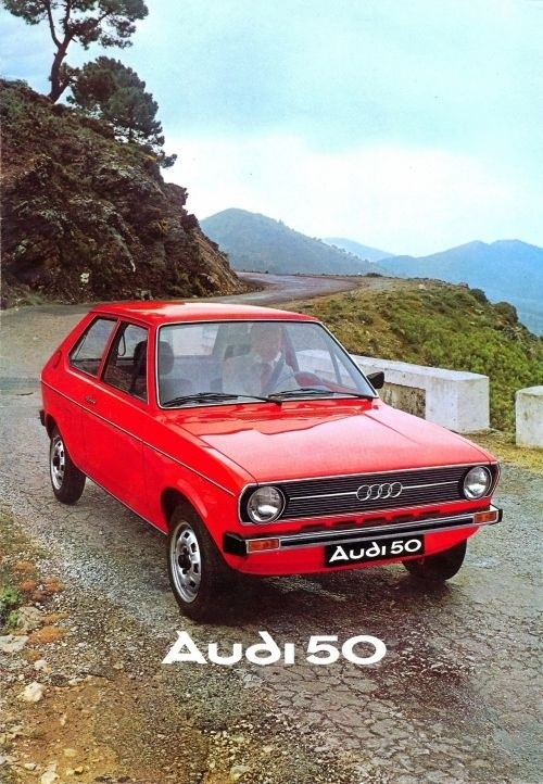 Audi 50 / 1976 Maintenance/restoration of old/vintage vehicles: the material for new cogs/casters/gears/pads could be cast polyamide which I (Cast polyamide) can produce. My contact: tatjana.alic@windowslive.com