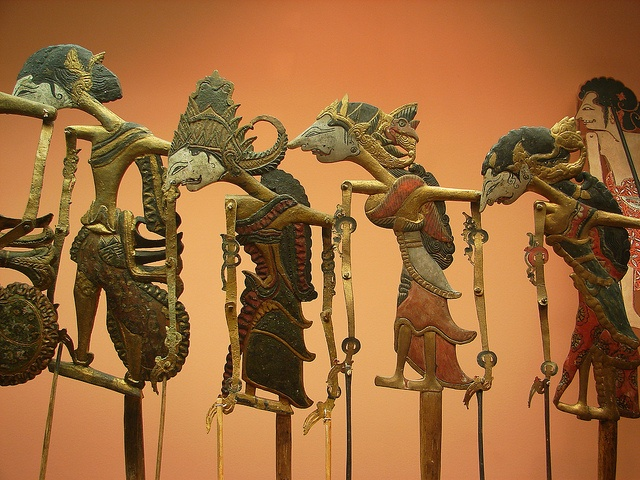 Balinese Shadow Puppets    From the Museum of Natural History in NYC.