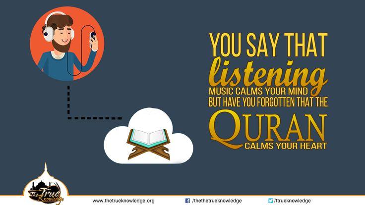 Listening quran calm your heart http://www.thetrueknowledge.org/10617-2/?fb_ref=Default