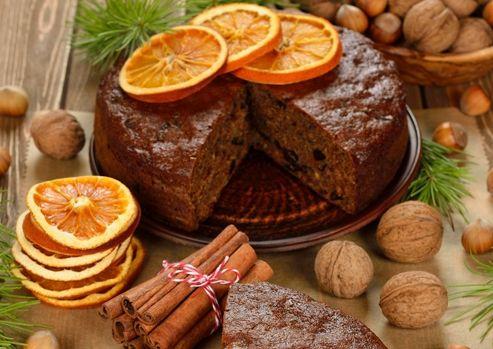 Banting Christmas Cake