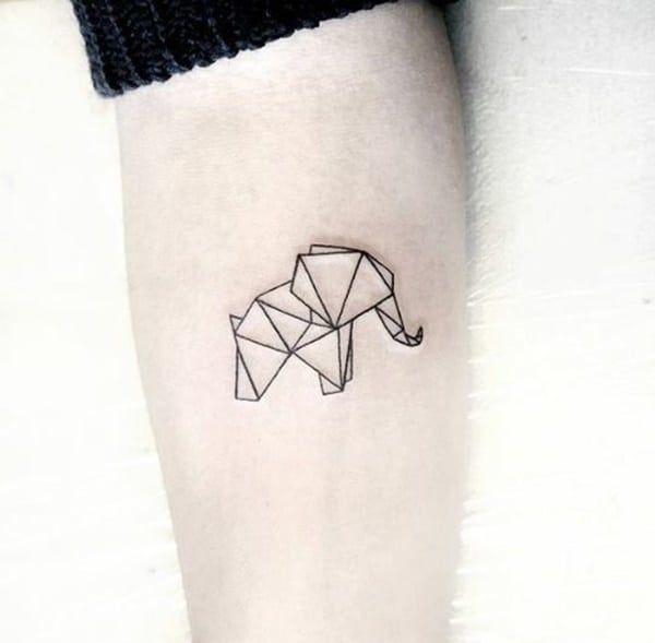 Ideias criativas para tatuagens de elefantes! | Tatuagem da bela, Tatuagem elefante, Tatuagem de elefante