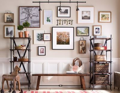 different picture hanging templates