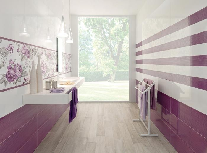 Idee rivestimento bagno moderno new home pinterest idee - Rivestimento piastrelle bagno ...