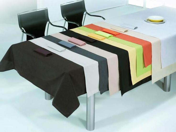 Mantel liso varios colores antimanchas tejido jacquard | Manteles Antimanchas Lisos | Don Mantel