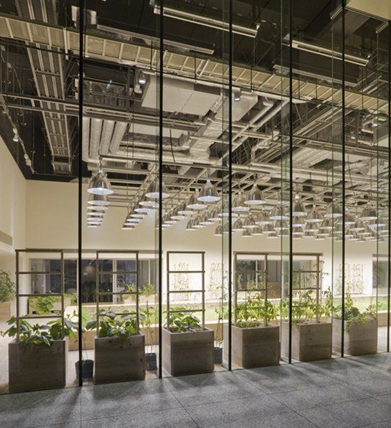 Pasona Group Office Building In Tokyo Japan Interior