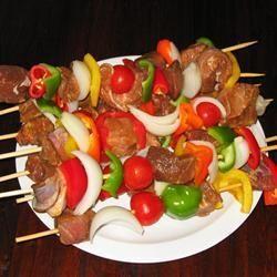 Marinada para espetinhos de carne @ allrecipes.com.br