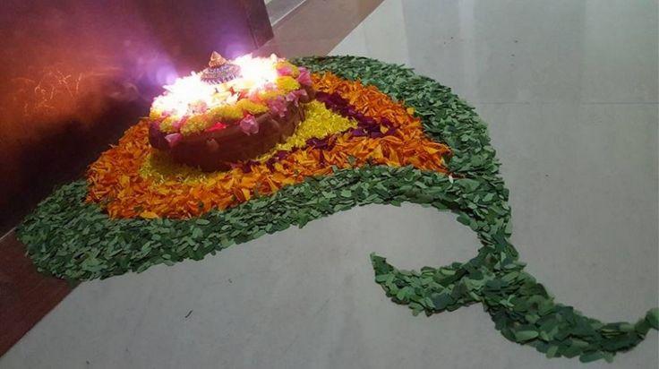 Diwali Pookalam Designs