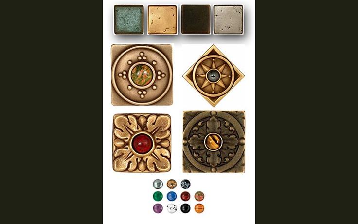 Da Vinci Marble Saint Gaudens Metallic Tile
