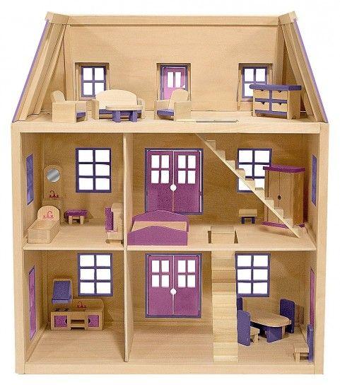 Oltre 25 fantastiche idee su Casa delle bambole di legno su Pinterest