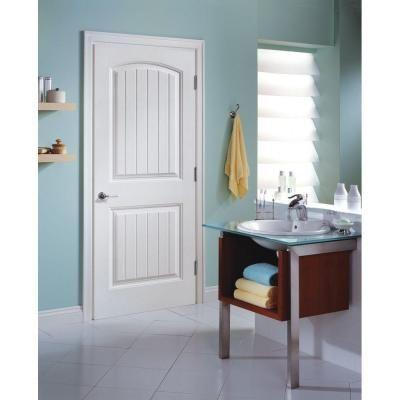 solidoor cheyenne 2panel solidcore smooth primed composite single prehung interior door