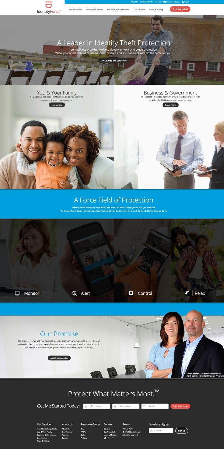 identityforce - massive use of photos