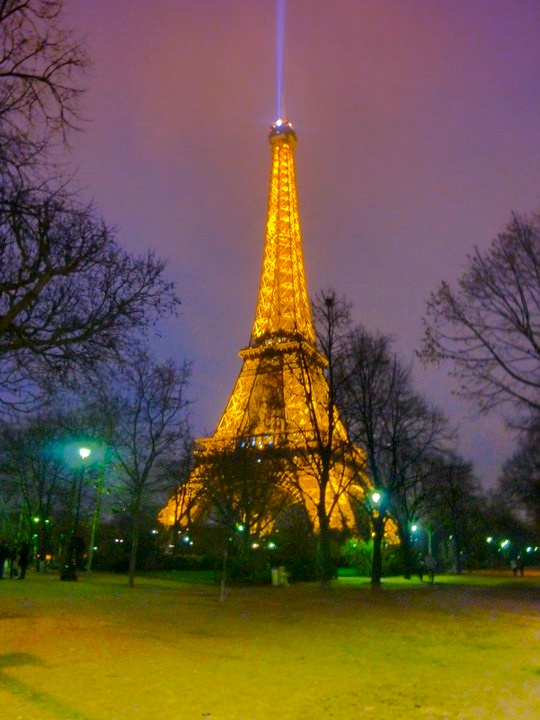 Sight to see forever. Paris' Eiffel Tower.