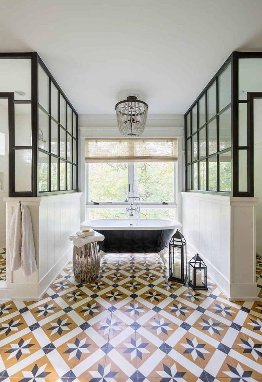 Can you paint vinyl flooring in a bathroom decor snob