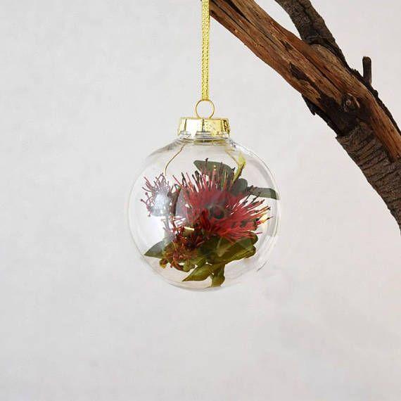 Australian Flowering Gum Christmas Bauble