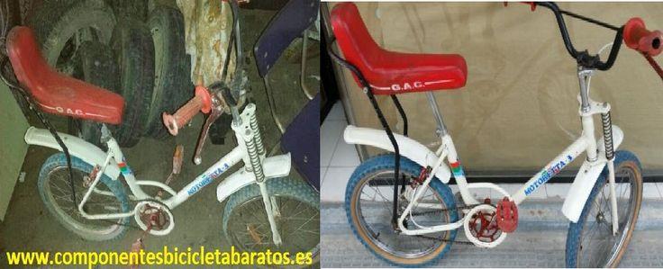 Bicicleta motoretta 3 ! Llegar , comprar y disfrutar ! Propiedad de Componentes Bicicleta Baratos en Zaragoza.