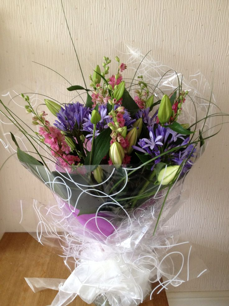 Summers handtied bouquet