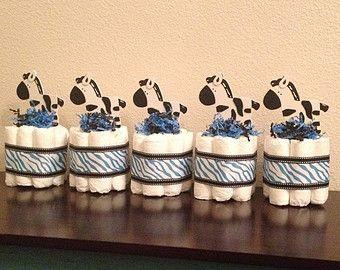 Ensemble de gâteau de couches Mini Safari & gâteau par StorkandCo