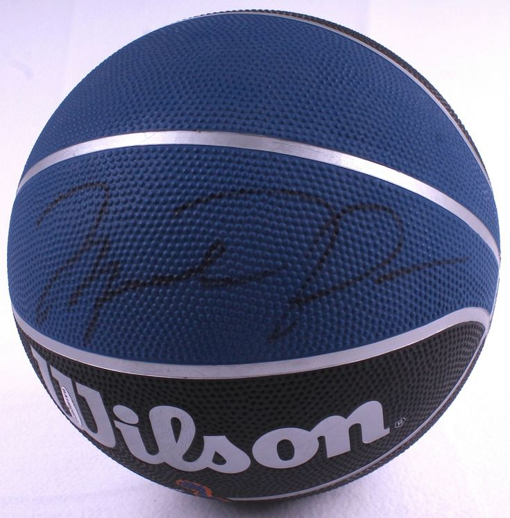 Michael Jordan Signed Wilson Basketball (UDA COA)