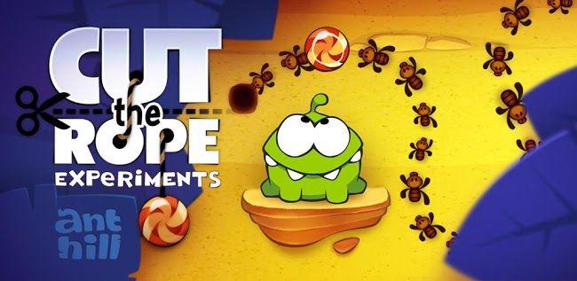 Cut the Rope: Experiments recibe 25 nuevos niveles llenos de hormigas http://www.xatakandroid.com/p/90893