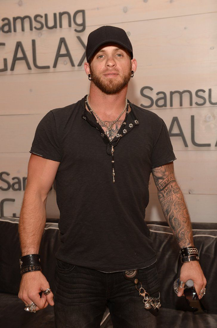 "Pin for Later: Country Star Brantley Gilbert Is Engaged to the Girl Who Inspired ""More Than Miles"""