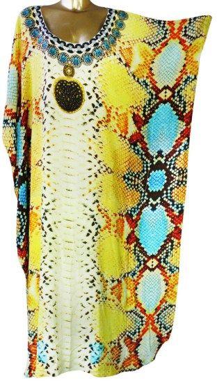 Reine Python Silk Kaftan