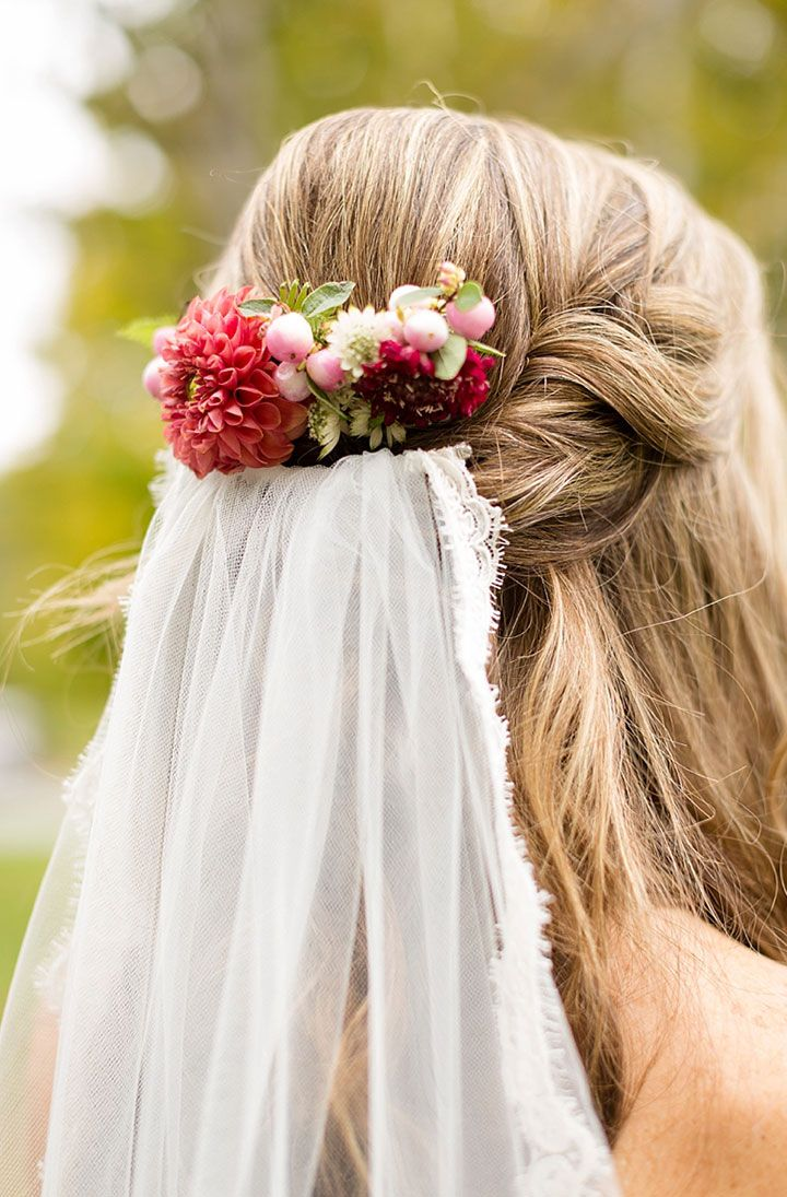 192 best Flowers in Her Hair ~ Brides images on Pinterest | Bridal ...