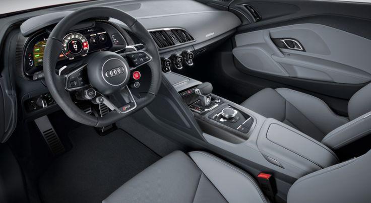2018 Audi Q8 interior