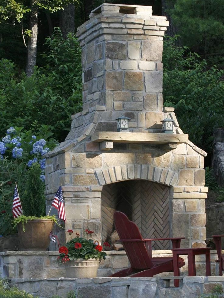 Outdoor Fireplaces and Kitchens Design