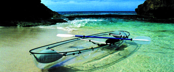 We Wish We'd Thought Of This Genius Transparent Kayak